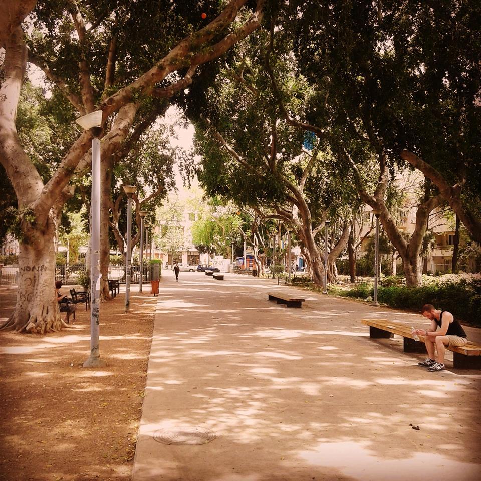 4 juin 2016 - Tel Aviv today  – à Gan Meir.