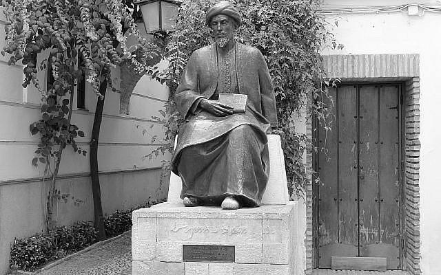 Statue de Maïmonide dans la Juderia. Photo : Nicolas Vollmer - CC BY 2.0