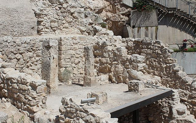 Maison d'Ahiel, Cité de David, Jérusalem - C.C.3.0
