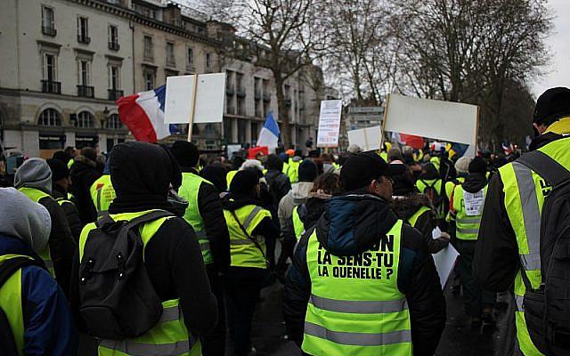 Tours - Manifestation des Gilets Jaunes - 02 février 2019 © GrandCelinien - (G. A.) / CC-BY-SA-3.0
