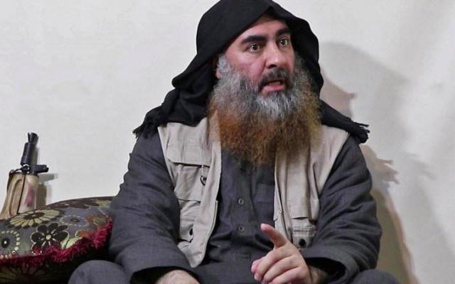 Abou Bakr Al-Baghdadi (Crédit : AFP)
