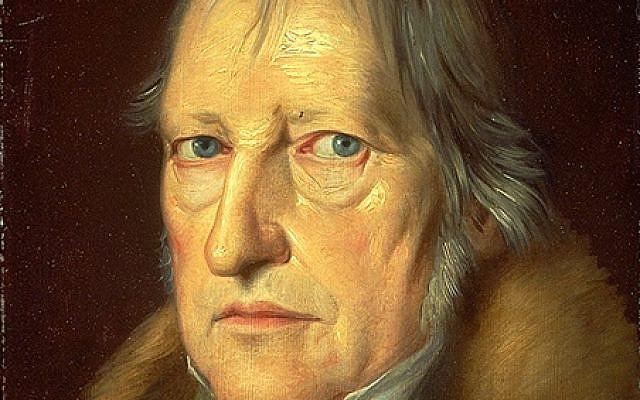 Portrait de Hegel par Schlesinger, 1831 - Domaine public