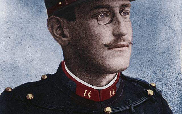 Alfred Dreyfus (1859-1935) vers 1894 - Par Aaron Gerschel (1832-1910 ?). Domaine public.