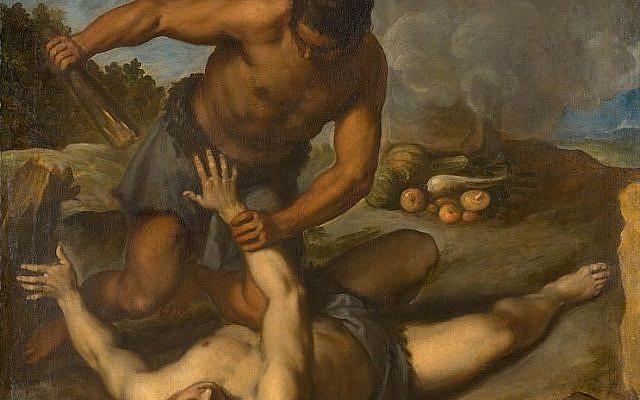 Abel et Cain - Palma le Jeune (vers 1603). Domaine public.