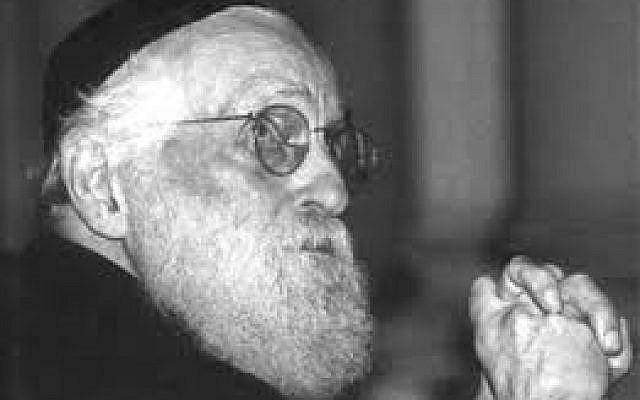 Le Grand Rabbin Alexandre Safran