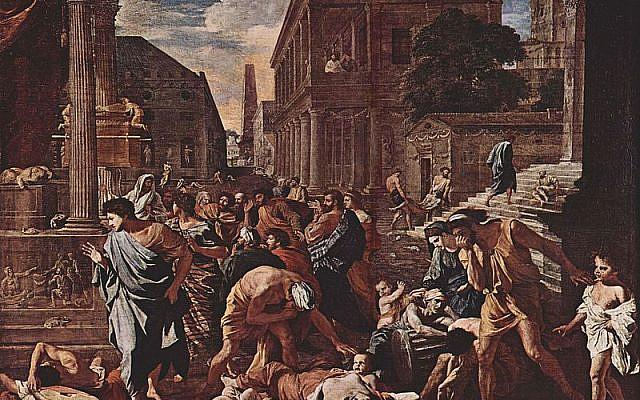 La peste à Ashdod de Nicolas Poussin (1594–1665), 1630.