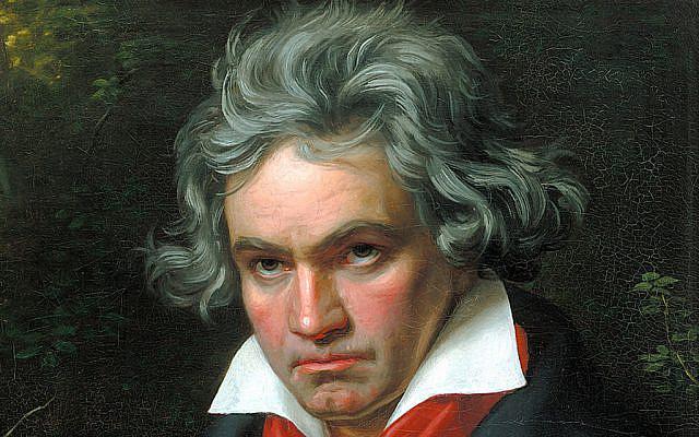 Ludwig van Beethoven, portrait de Joseph Karl Stieler, 1820