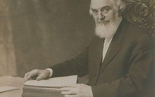Charles Taze Russell, photographie d'Eric Patterson, 1911 - Domaine public