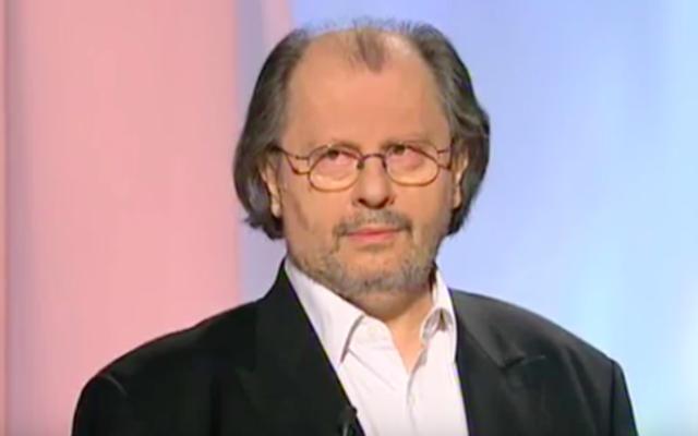 Pierre-André Taguieff. (Crédit : capture d'écran YouTube)