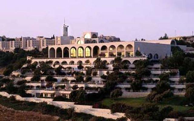L'Université hébraïque sur le mont Scopus, à Jérusalem. Illustration. (Crédit : Leeor Bronis/Times of Israel)