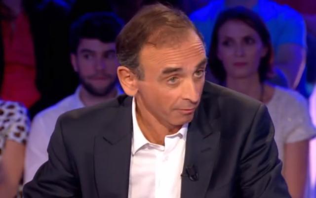 Le polémiste Eric Zemmour (Crédit : capture d'écran YouTube/France 2)