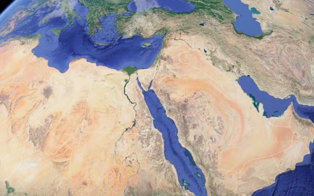 Proche-Orient - Google Earth