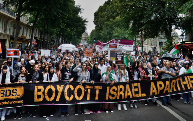 Illustration: mouvement BDS en France. (CC BY-SA, Odemirense, Wikimedia commons)