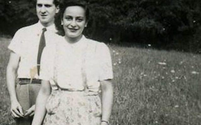 Jean et Hélène Berr à Aubergenville