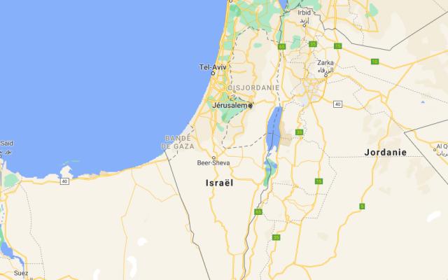 Capture d'écran - Google map