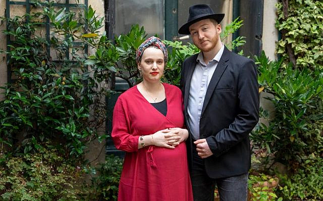 Emile et Myriam Ackermann-Sommer @Crédit autorisation Ari Beser
