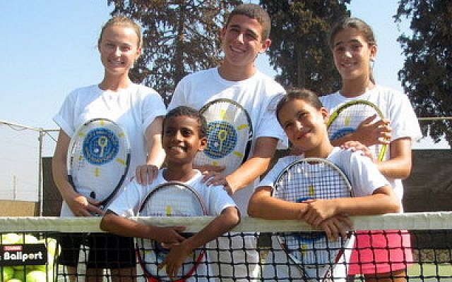 Junior tennis stars from Israel will put on an exhibition next month in Squirrel Hill. (ITC photo)