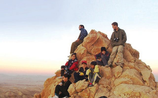 Green Horizons teaches Jewish youth skills for the Israeli wilderness as well as for life. (JNF photo)