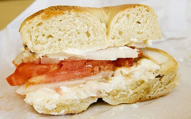 Lox, bagels and cream cheese are standard fare at break fasts, but stay in control while eating.