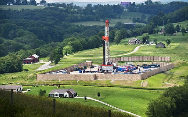 Drilling sites are cropping up across Pennsylvania and West Virginia as part of the gas boom. (Scott Goldsmith photo)