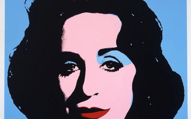 "Deborah Kass ""Blue Deb"" 2000"
