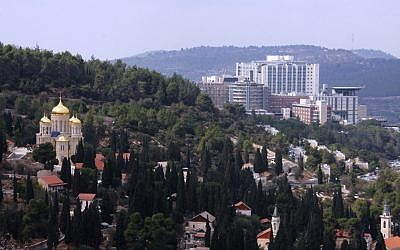 Hadassah University Medical Center in Jerusalem's Ein Kerem