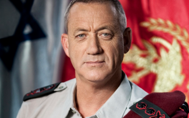 IDF Chief of General Staff Lt. Gen. Benny Gantz