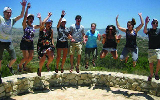Onward Israel interns at Yuvalim in Misgav