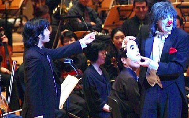 """Pittsburgh mime Dan Kamin, who performed """"The Classical Clown"""" in 2009 with the Singapore Symphony Orchestra, will reprise his role with the Edgewood Symphony Orchestra Saturday and Sunday at the Jewish Community Center in Squirrel Hill. (Photos courtesy of Dan Kamin)"""