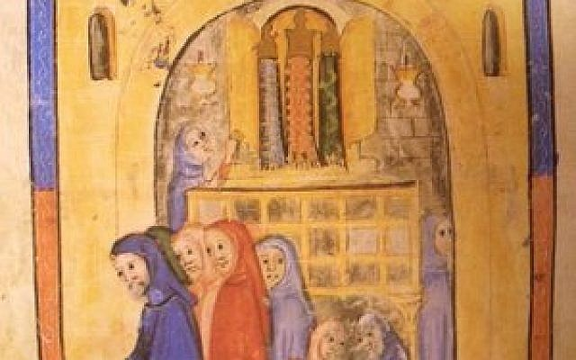 "Illustration from the ""Sarajevo Haggadah"""