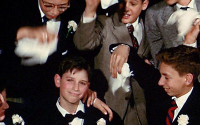 Bar mitzvah celebration from the 1950s. (From Hava Nagila (The Movie)