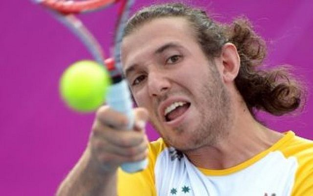 Adam Kellerman of Australia established himself as a wheelchair tennis athlete following a hip amputation. (Jewishnews.net.au)