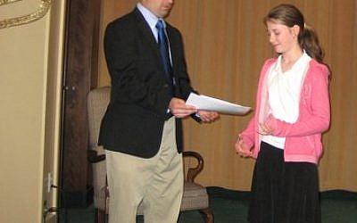Councilman Cory O'Connor with Perri Tuchman
