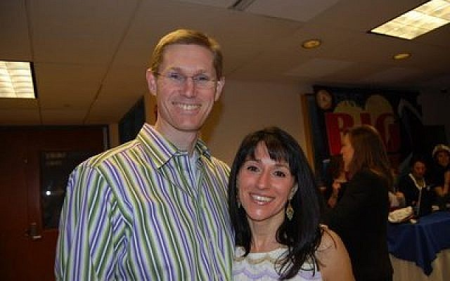 Dr. Yram Groff, pictured here with is wife, Merris, played professional basketball in Israel.