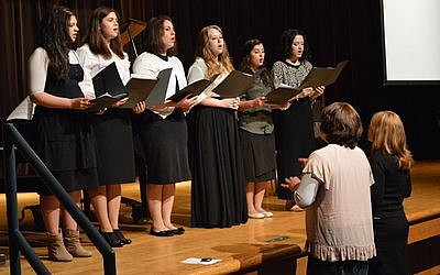The Tzohar Seminary highlighted students' talents in performing arts at its year-end production held Sunday, June 9. (Photo credit: Arianna Sharfman)