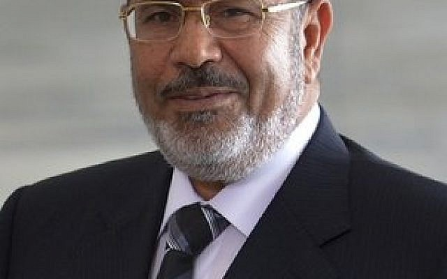 Mohamed Morsi, president of Egypt, was ousted by the military on Wednesday, July 3. (Photo credit Wikimedia Commons.)
