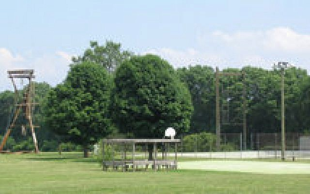 The athletic field at Goldman Union Camp Institute (GUCI), in Zionsville, Ind.