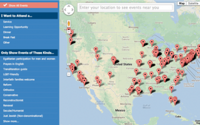 NEXT, a division of Birthright Israel Foundation, offers an interactive map online that will show services and events in U.S. cities across the country, including Pittsburgh, during the High Holy Days. Visit their website at birthrightisraelnext.org/highholidays.