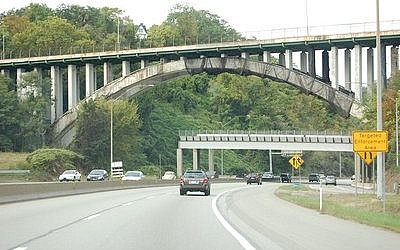The Greenfield Bridge will be imploded in 2015.