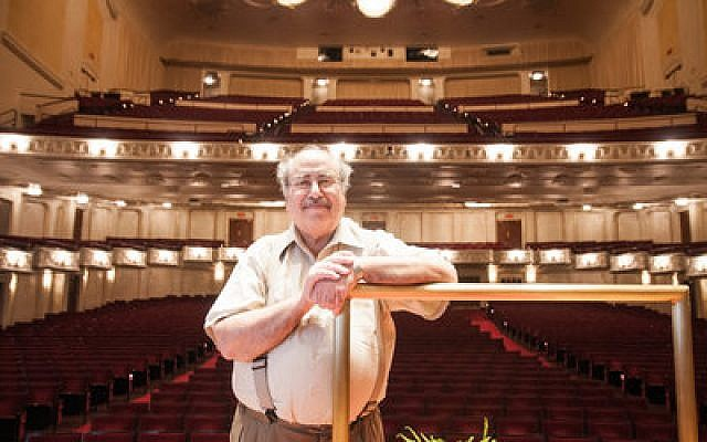 "David Stock says his ""Sixth Symphony,"" which will be performed the weekend of Oct. 4 by the Pittsburgh Symphony Orchestra, has strong Jewish influences. (Chronicle photo by Lindsay Dill)"