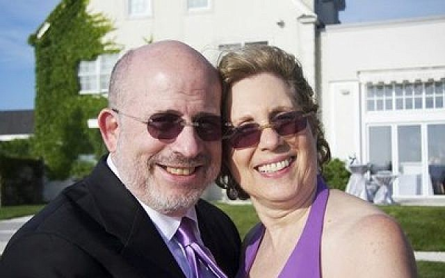 Scott Allen with his wife Rae-ann