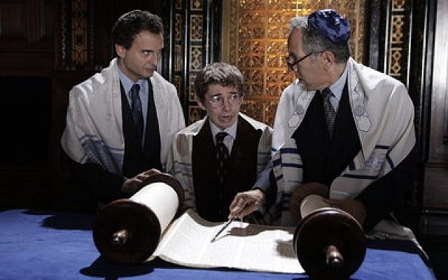 "A young Adam Lipschitz finds his bar mitzvah more than he can handle in the comedy, ""Jewtopia."""