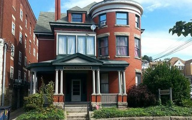 This Queen Anne Revival house in downtown Morgantown, W.Va., is the future home of the Chabad of Morgantown. (Chabad of Morgantown photo)