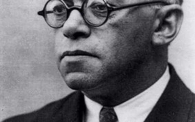 Ze'ev Jabotinsky (Credit: The David S. Wyman Institute for Holocaust Studies)