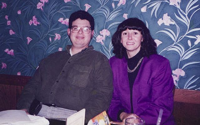 Deena Alansky and her late brother, Rand,  are seen here in a 1997 photo. Alansky conducted a bone marrow registration drive this week in the North Hills in memory of her brother, who died from an aggressive form of leukemia. (Photo courtesy of Deena Alansky)