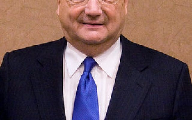 Anti-Defamation League (ADL) National Director Abraham H. Foxman announced plans to retire in 2015. (Credit: Wikimedia Commons)