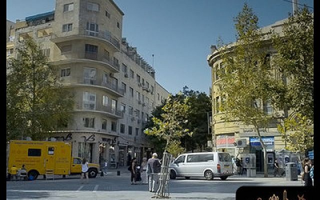 Jerusalem in all its variety is represented in the new giant screen film showing at the Carnegie Science Center. Zion Square in Jerusalem is pictured.  (Photos courtesy of jerusalemthemovie.com)