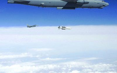 Bunker-buster bombs can be delivered by a B-52. Wall Street Journal op-ed writers Michael Makovsky and David Deptula say the U.S. should provide several to Israel.