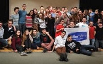 Participants in the Diller Teens Fellow Program toured Pittsburgh and Washington, D.C., together, and enjoyed a stay at the Emma Kaufmann Camp in Morgantown, W.Va.