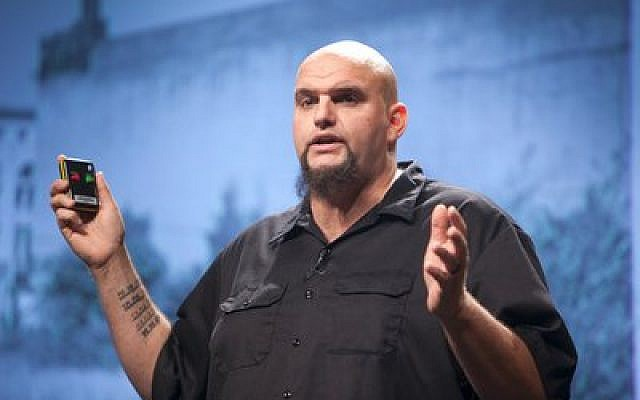 John Fetterman's ambition of doing good in the world brought him to Braddock, where he is leading the town's resurgence.